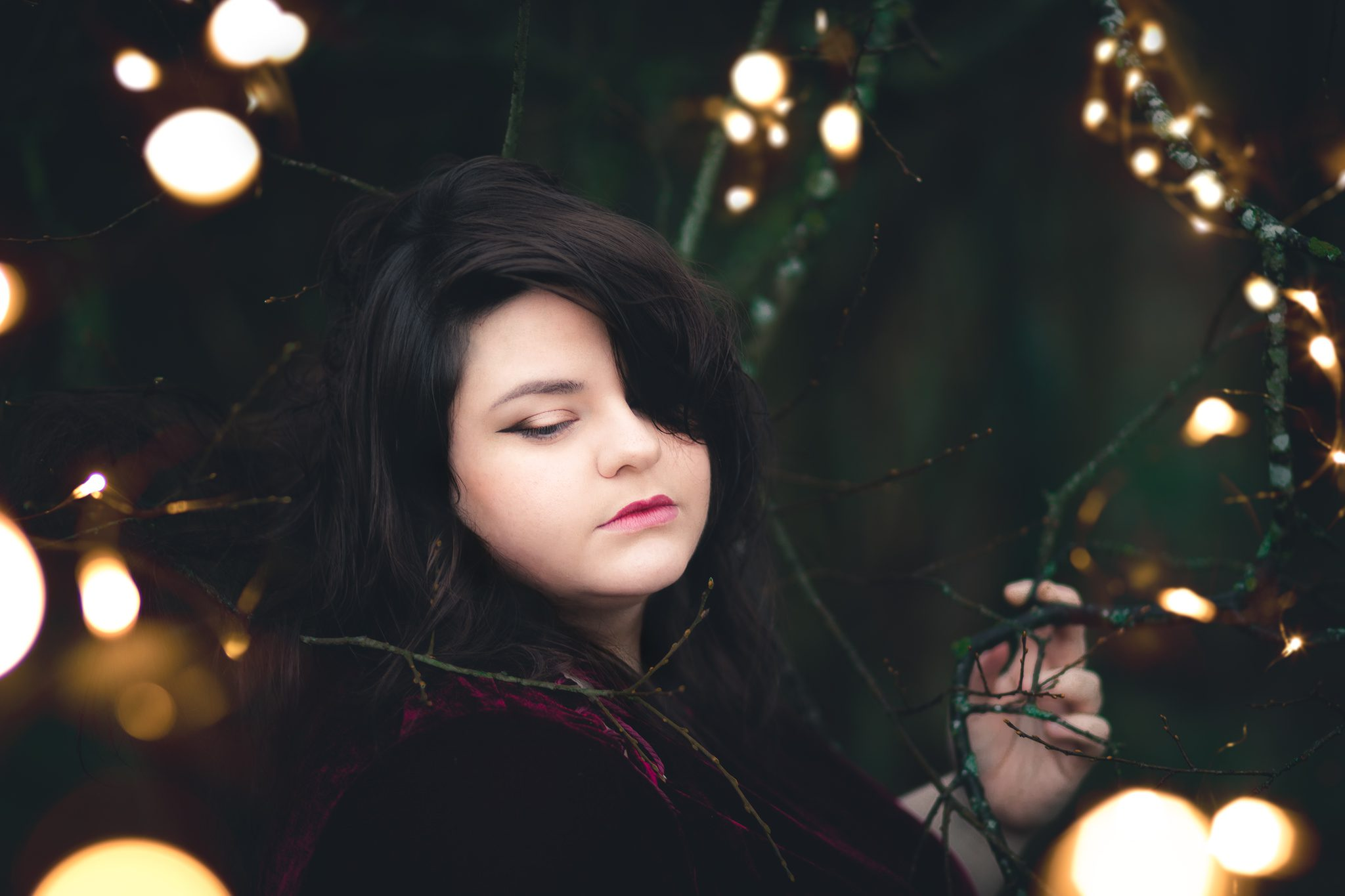 Buxton Portrait Photographer - Ellie Fairylights