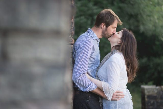 Buxton Photographer - Engagement Shoot Errwood Hall