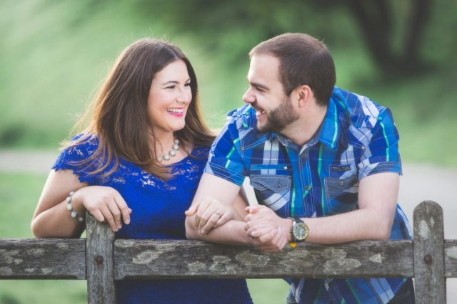 Derbyshire Engagement Shoot - Dove Dale