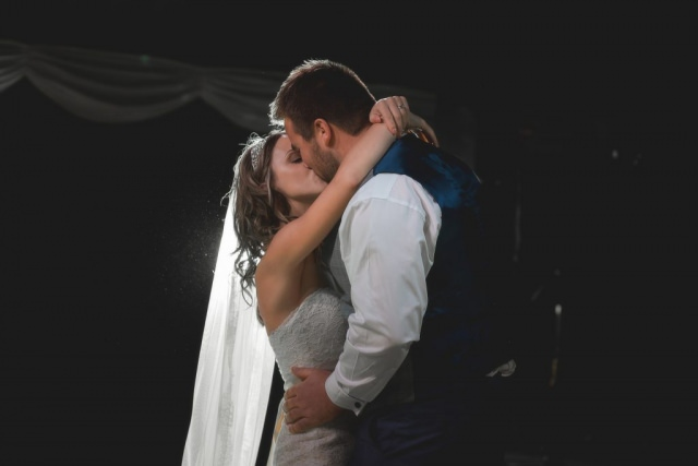 Cheshire Wedding Photographer - First Dance Heaton House Farm