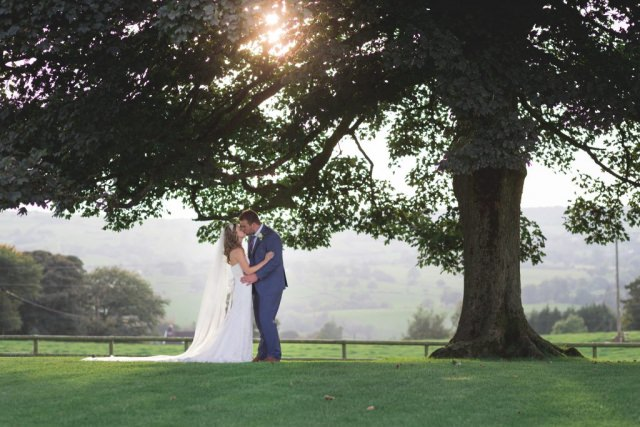 Cheshire Wedding Photographer - Jordan and Jack Heaton House Farm Tree
