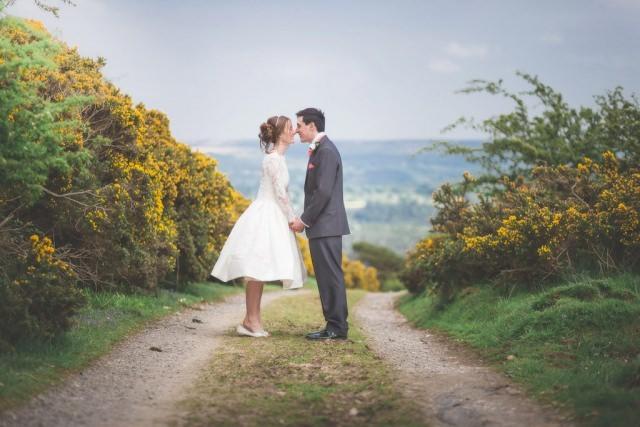 Derbyshire Wedding Photographer - Longstone Edge