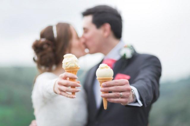Derbyshire Wedding Photographer - Ice Cream Peak District