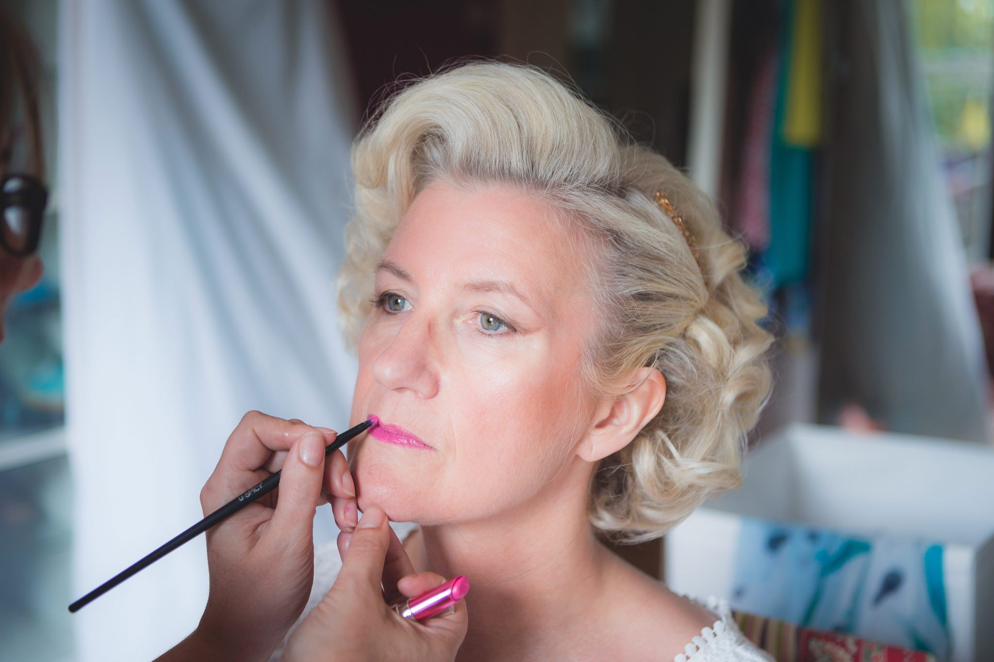 Derbyshire Wedding Photographer - Debbie and J - Makeup