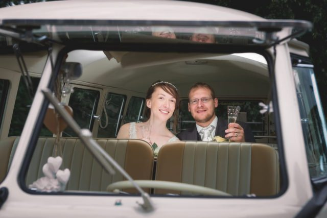 Derbyshire Wedding Photographer - Buxton Campervan