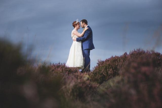 Derbyshire Wedding Photographer - Hathersage Peak District