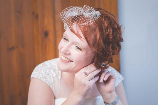 Derbyshire Wedding Photographer - Bridal Prep Hope Valley