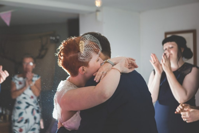 Derbyshire Wedding Photographer - Hathersage First Dance