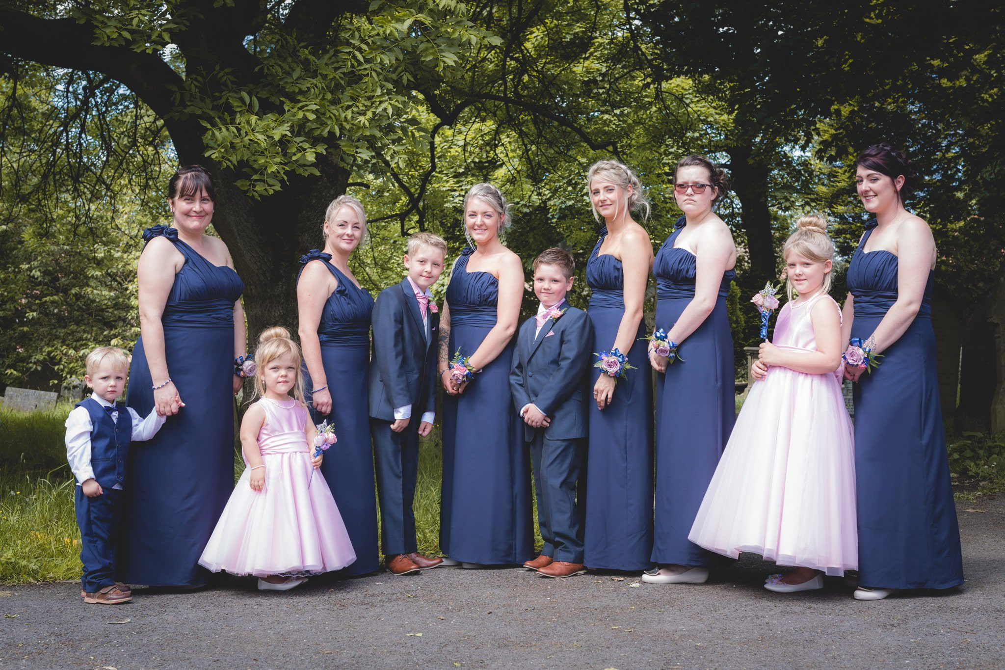 St Peter's Church - Bridal Party