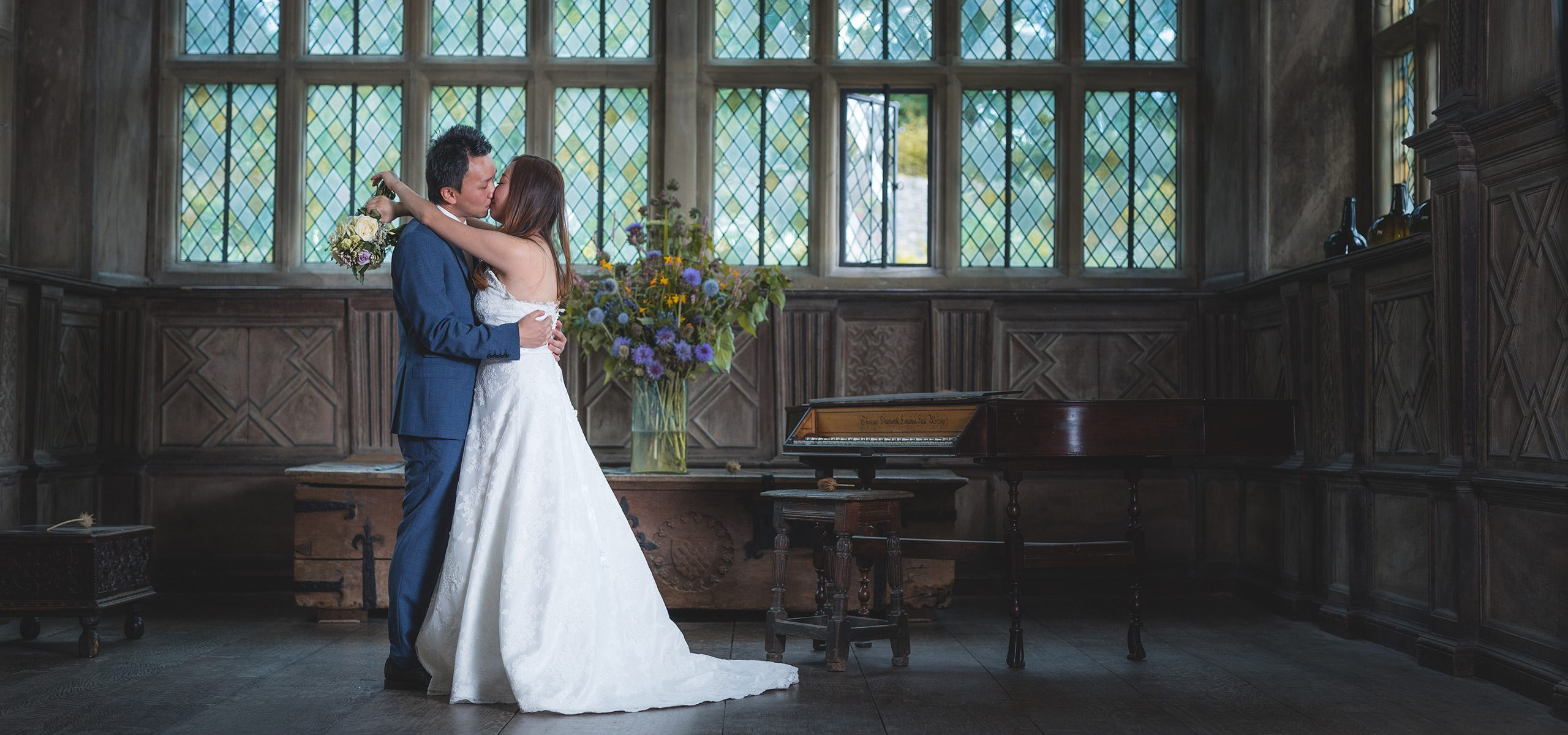 Derbyshire Wedding Photographer - Haddon Hall