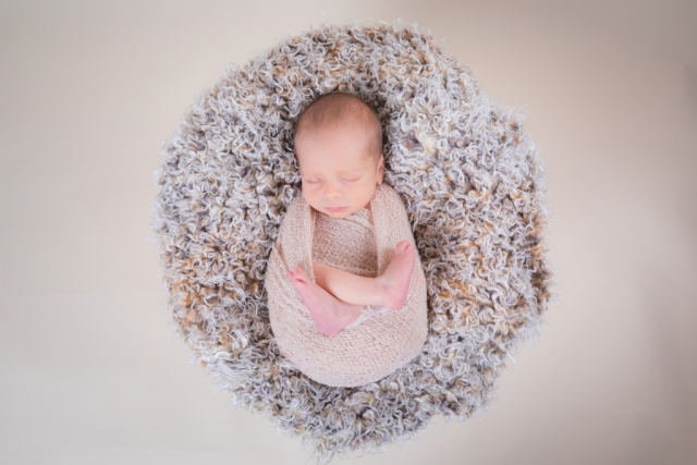 Newborn Photography - Basket