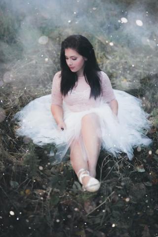 Buxton Photographer - Macc Forest - Ballerina