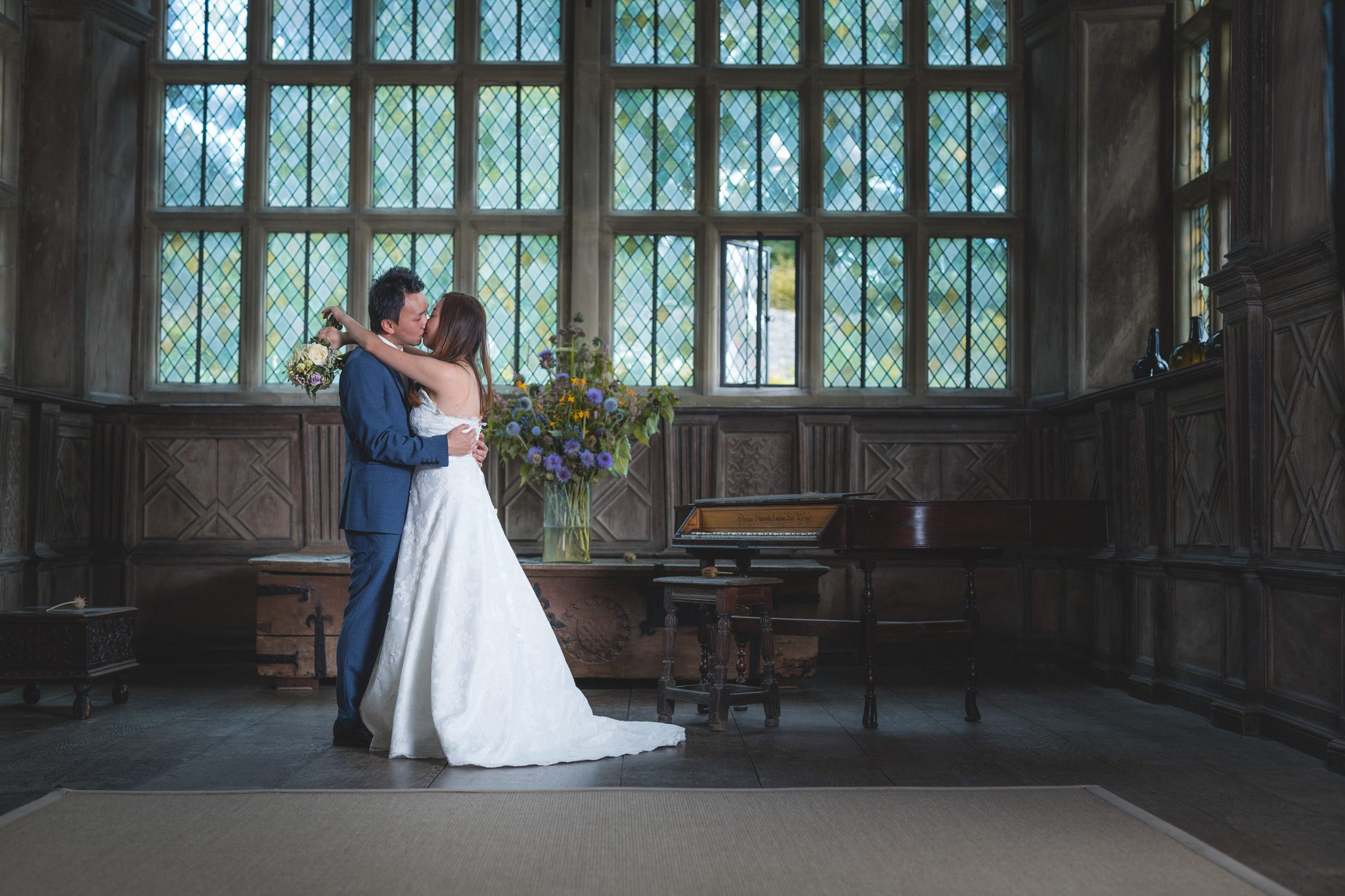 Summer Wedding at Haddon Hall - Xianxi and Lufei Inside the House