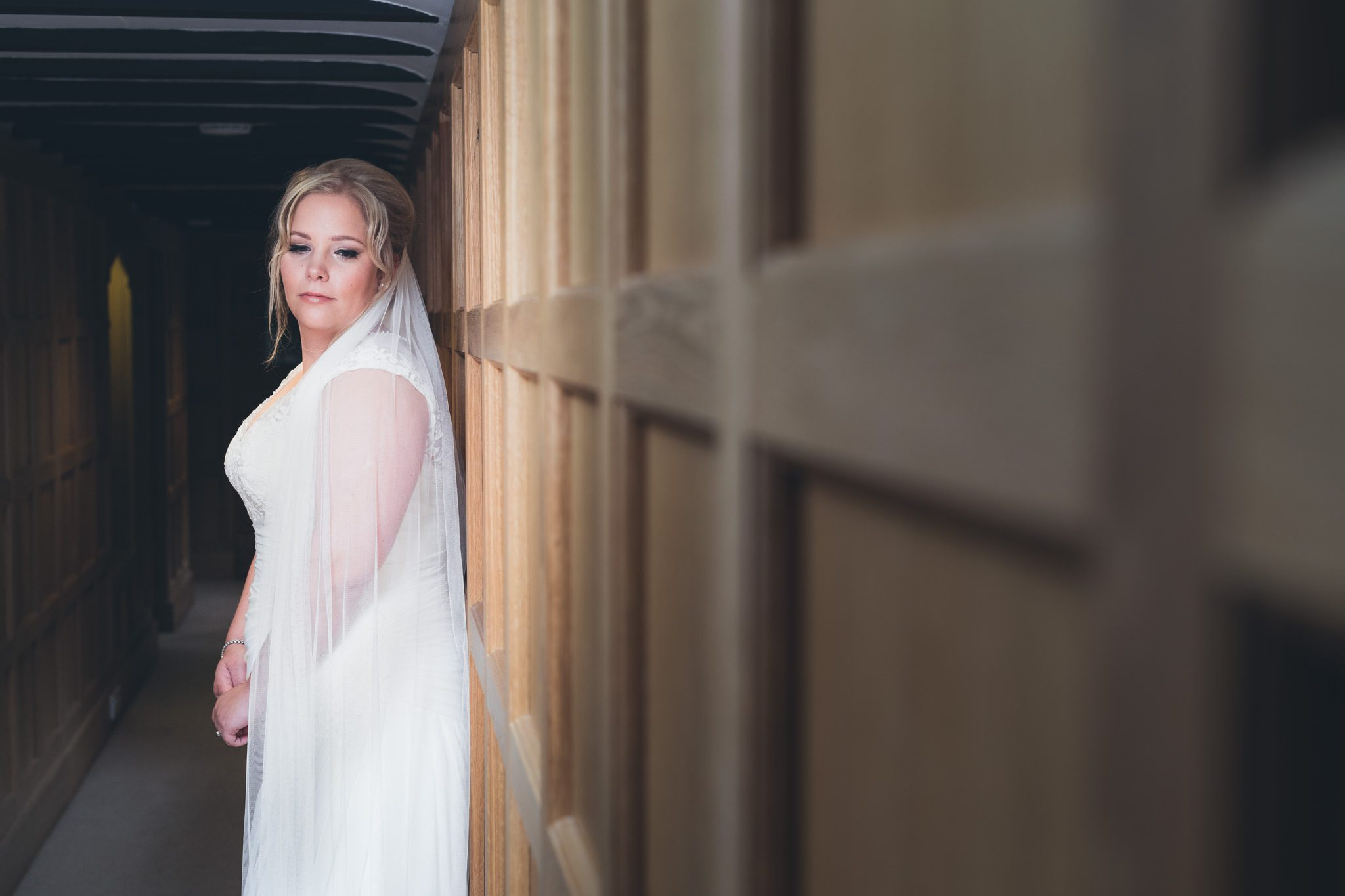 Upper House Hayfield - Bridal Portraiture