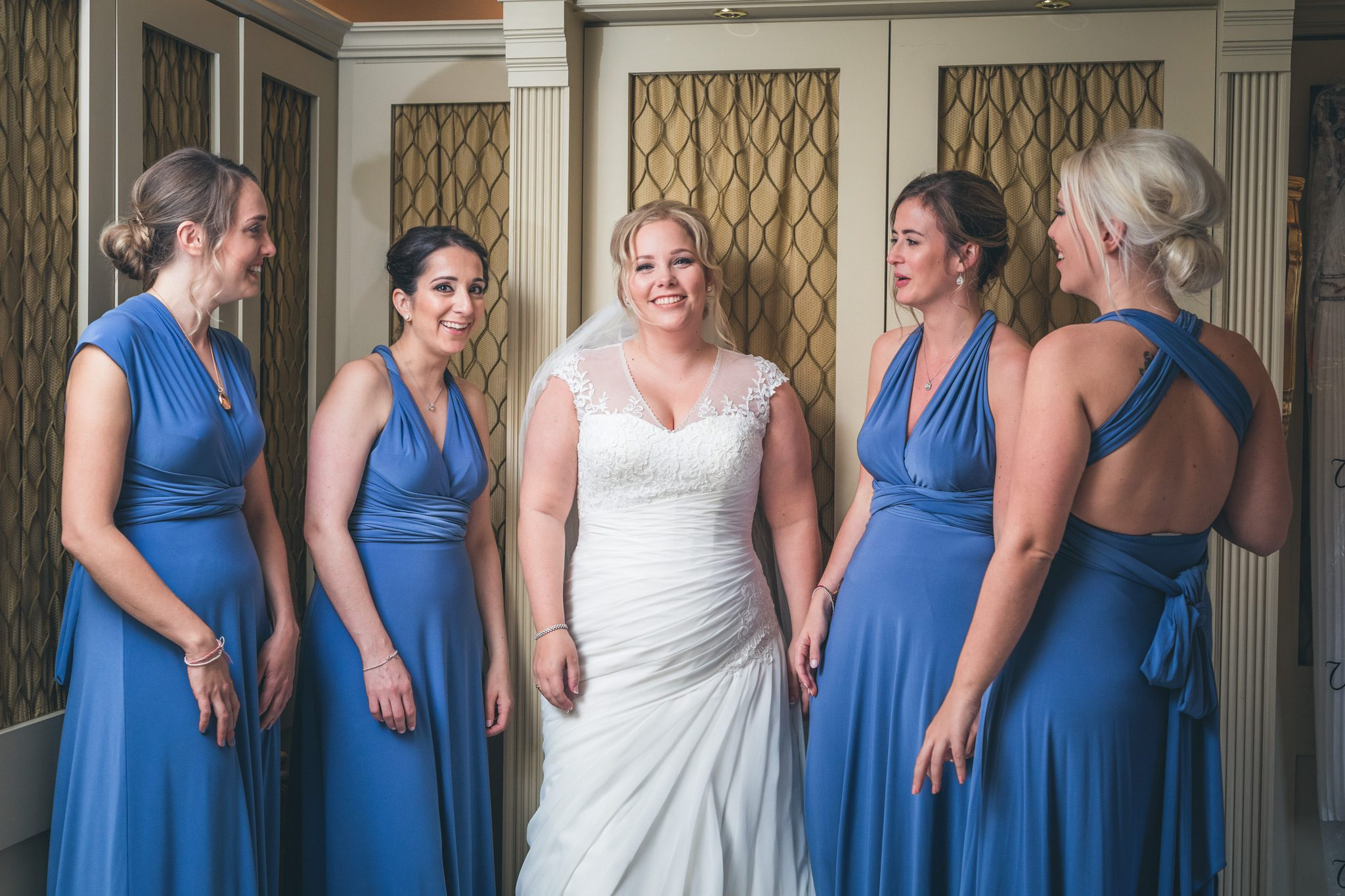 Bridesmaids at Upper House Hayfield