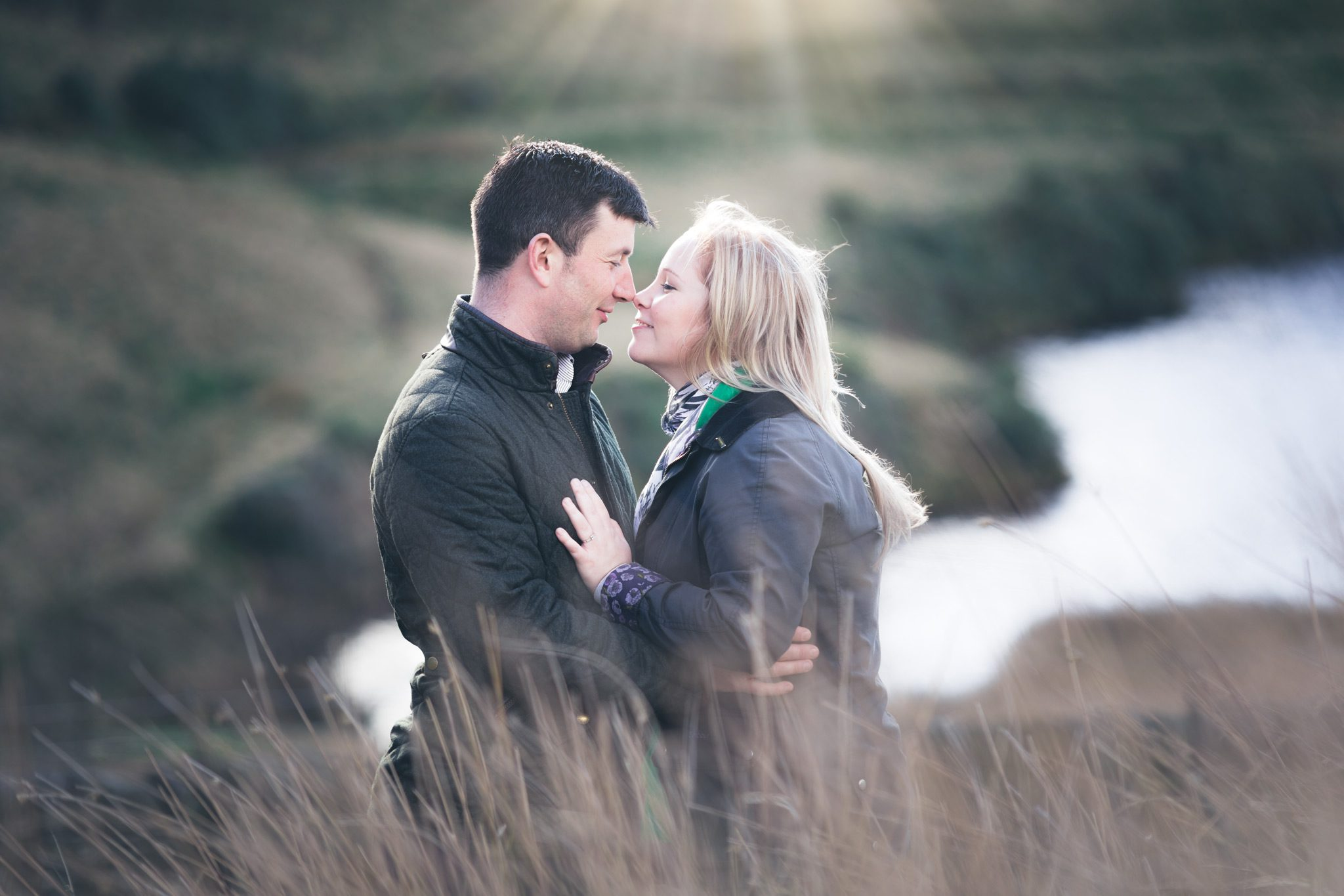 Engagement Shoot at Upper House Hayfield