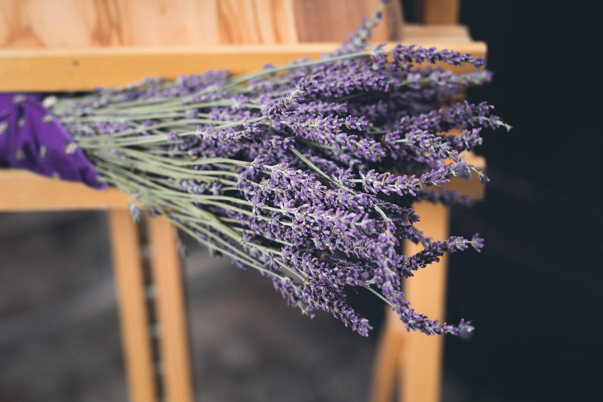 Lavender at French Themed Wedding