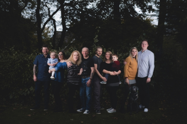 Family Photoshoot in Buxton