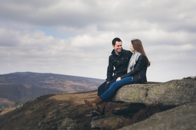 Bamford Edge Engagement Shoot