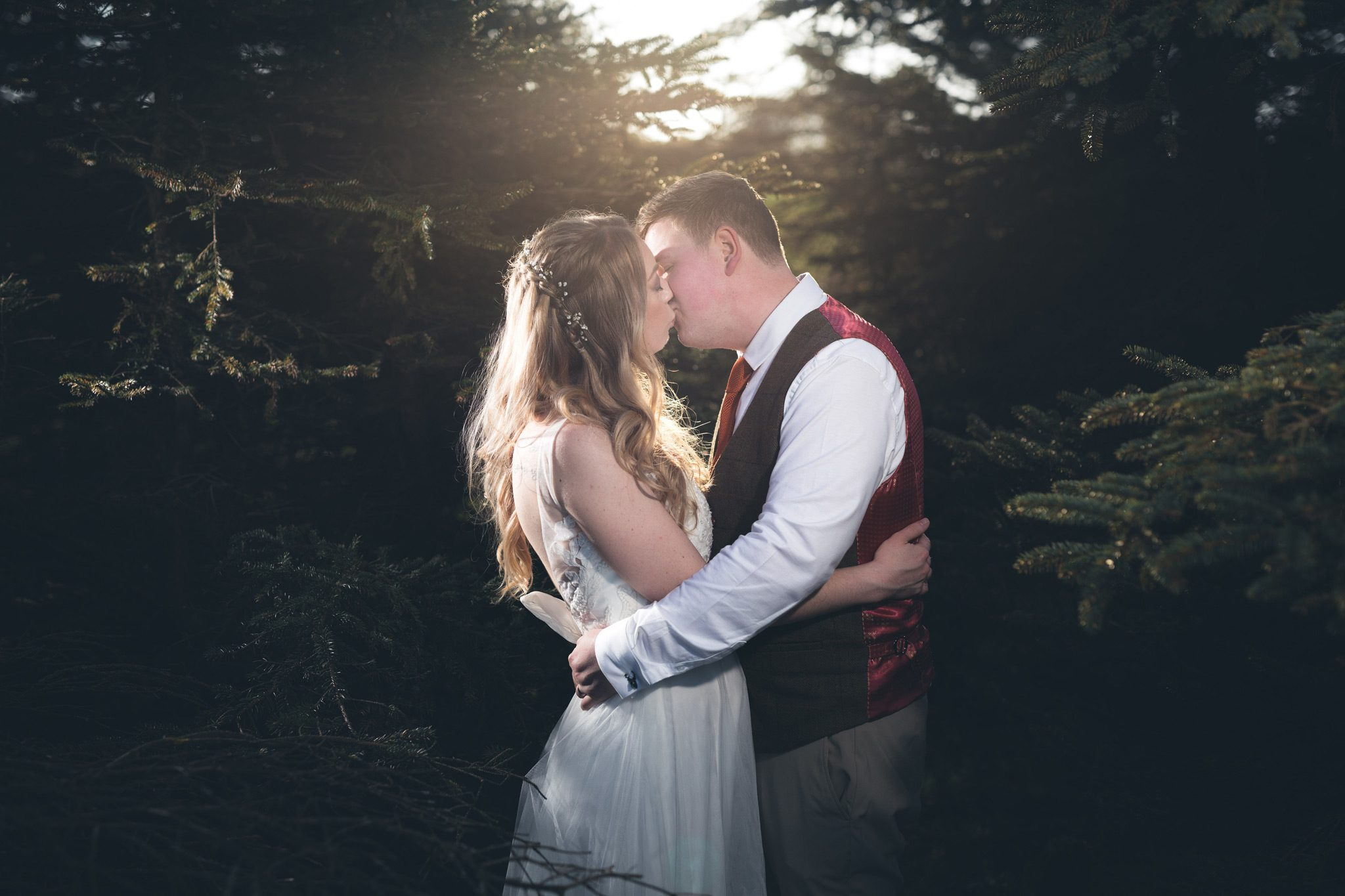 The Fox & Goose Inn Wedding Portraits