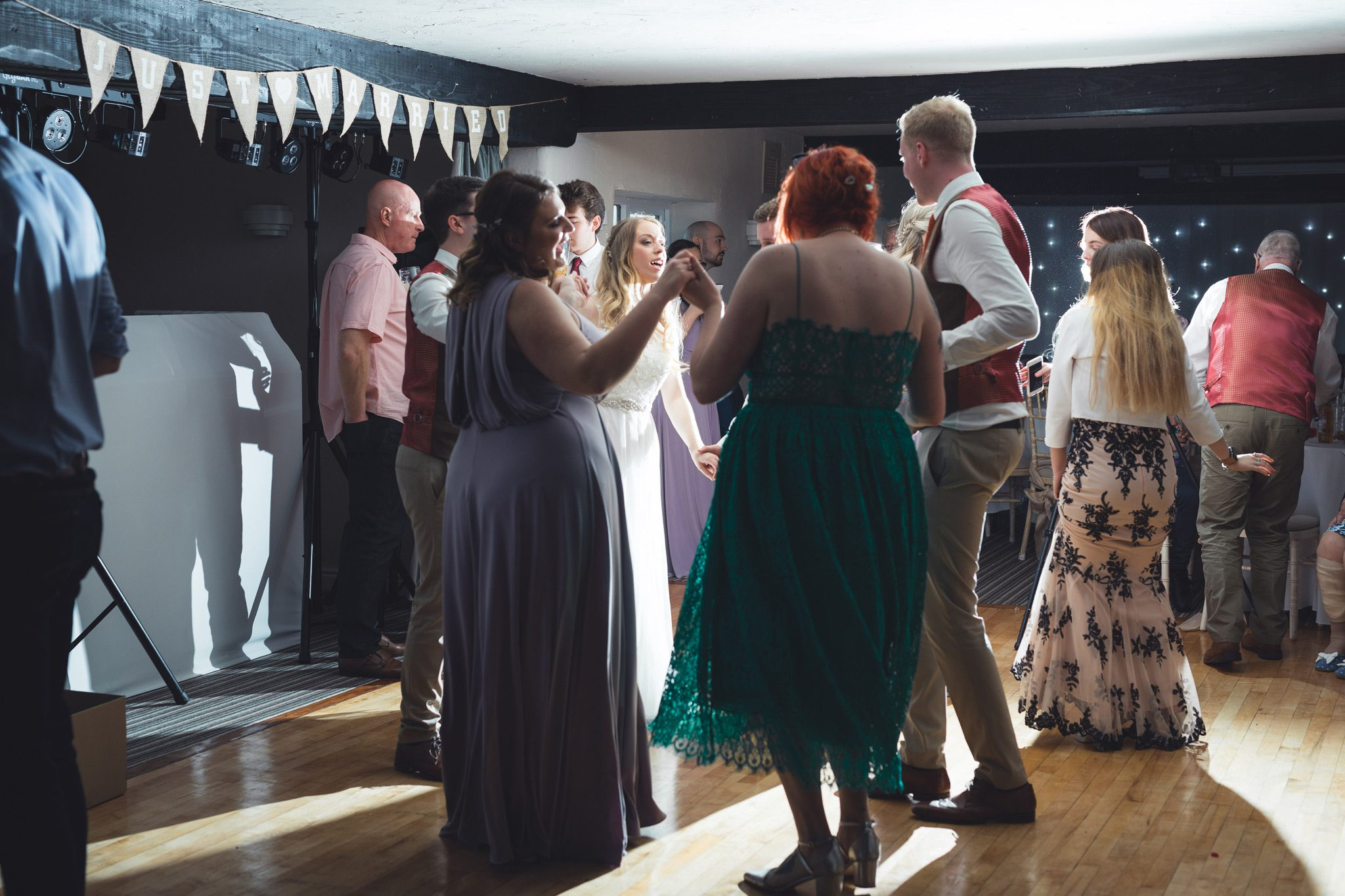 Chesterfield Wedding Party Dancing