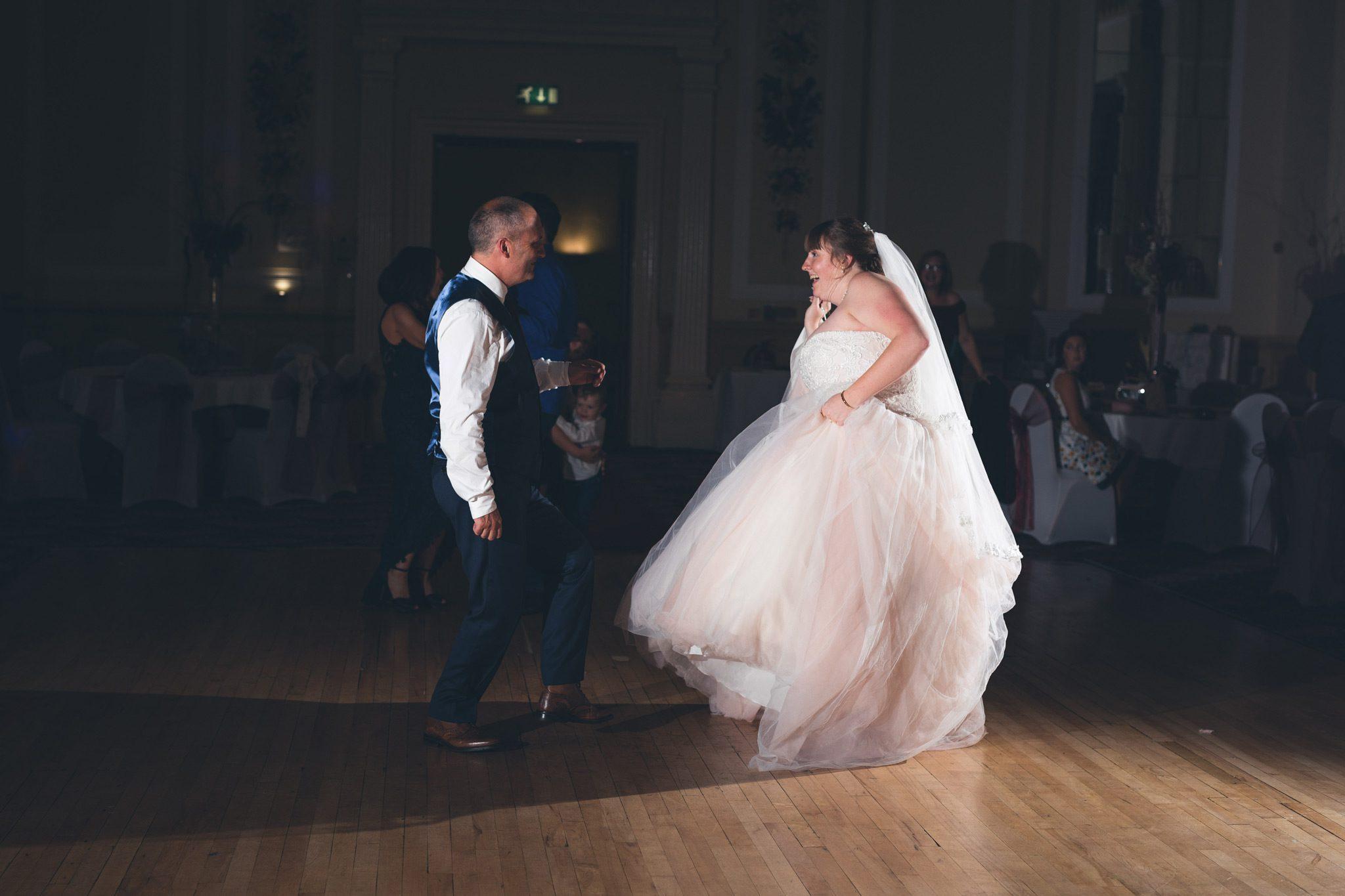 Dancing at The Palace Hotel