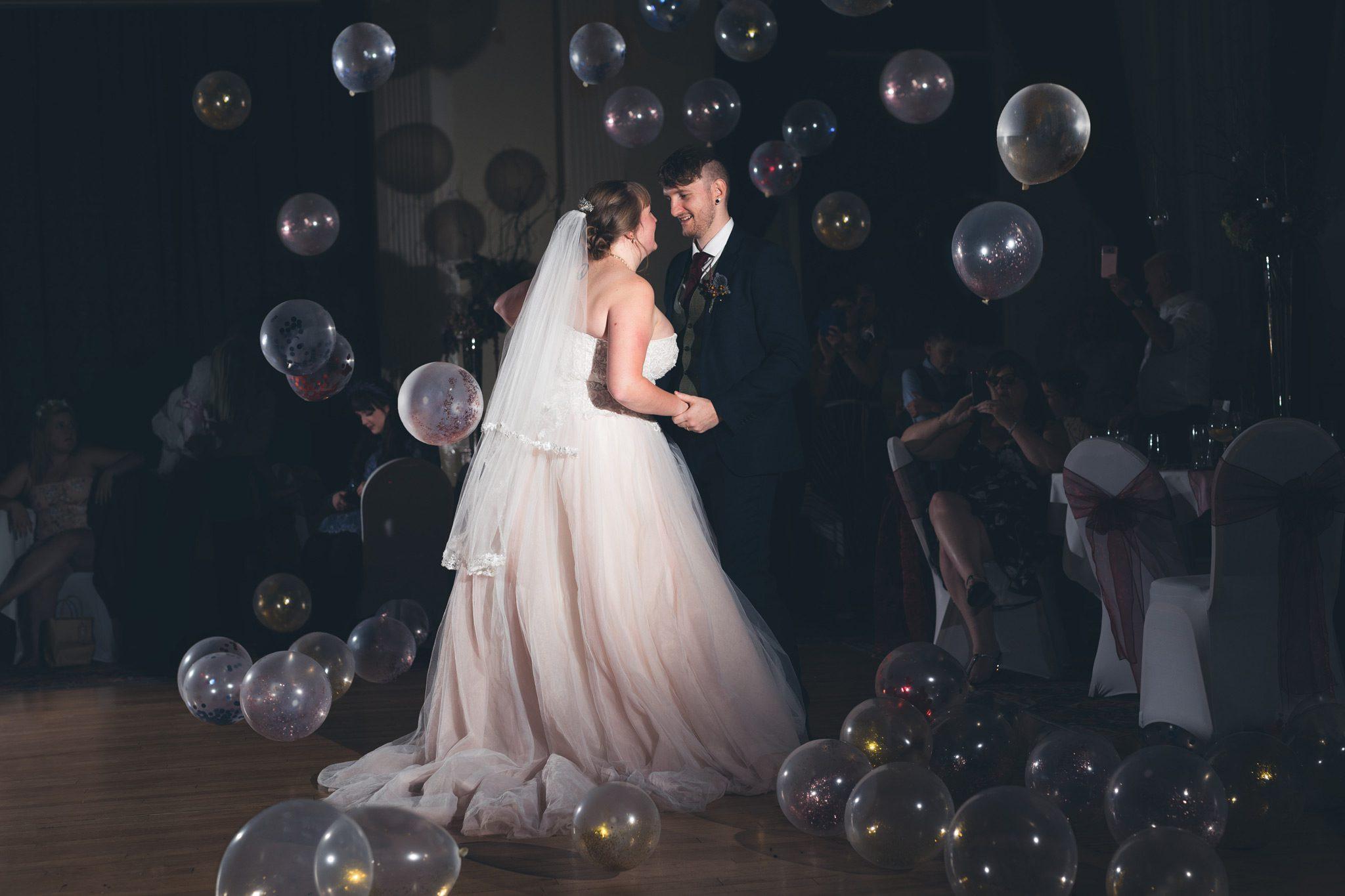 Balloon Drop First Dance