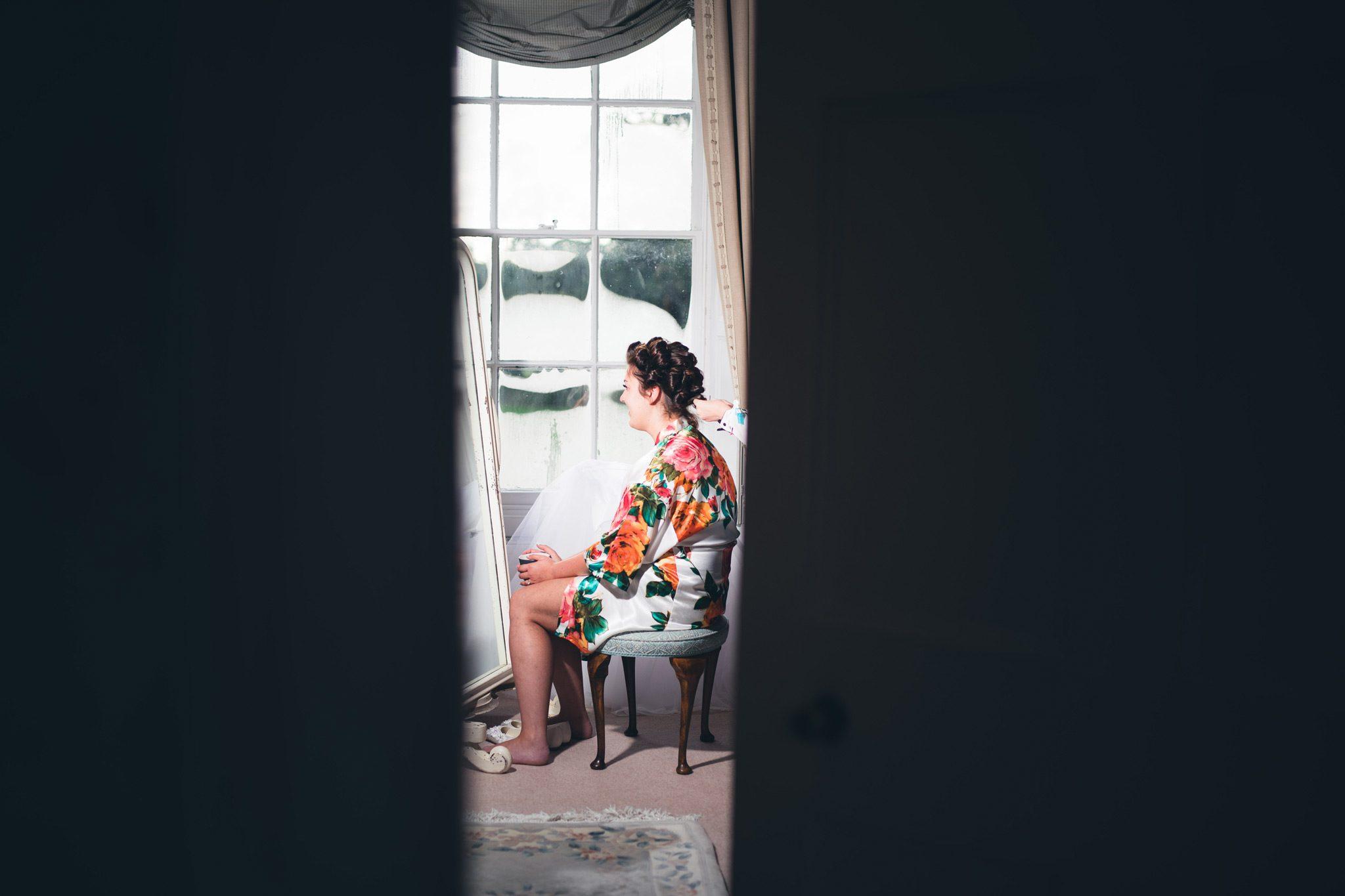 Sneak peek at bridal preparations