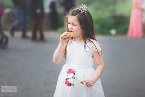 Derbyshire Wedding Photographer - Couple Shots with Ice Cream