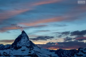 The Fiery Matterhorn - Switzerland Landscape Photography