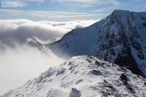 Càrn Mòr Dearg Cloud Inversion
