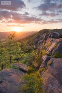 The Roaches Sunset