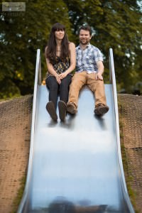 Sarah & Craig Slide | Buxton Engagement Photography